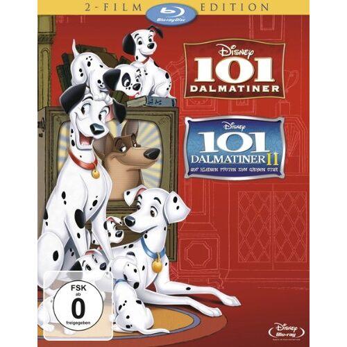 - 101 Dalmatiner / 101 Dalmatiner II: Auf kleinen Pfoten zum großen Star! [Blu-ray] - Preis vom 13.05.2021 04:51:36 h