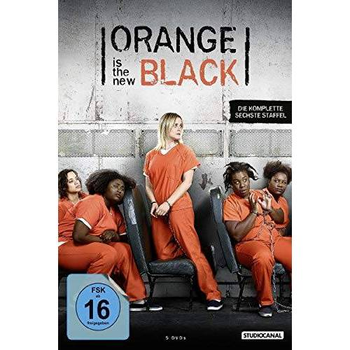 Taylor Schilling - Orange Is the New Black / 6. Staffel [5 DVDs] - Preis vom 27.02.2021 06:04:24 h