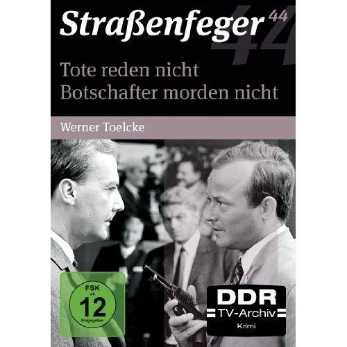 Werner Toelcke - Straßenfeger 44 - Tote reden nicht / Botschafter morden nicht [4 DVDs] - Preis vom 04.05.2021 04:55:49 h