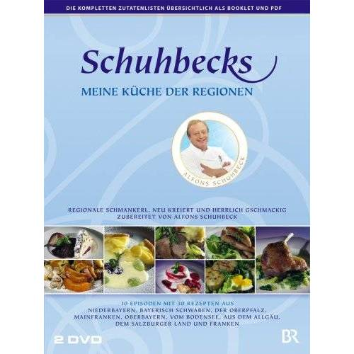 Alfons Schuhbeck - Schuhbecks - Meine Küche der Regionen [2 DVDs] - Preis vom 20.10.2020 04:55:35 h