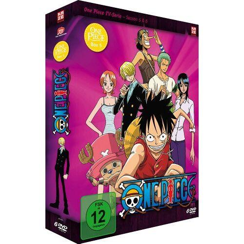 Konosuke Uda - One Piece - Box 5: Season 5 & 6 (Episoden 131-162) [6 DVDs] - Preis vom 18.04.2021 04:52:10 h