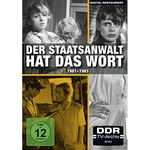 Achim Hübner - Der Staatsanwalt hat das Wort 07 - 1981 - 1983 [4 DVDs] - Preis vom 20.10.2020 04:55:35 h