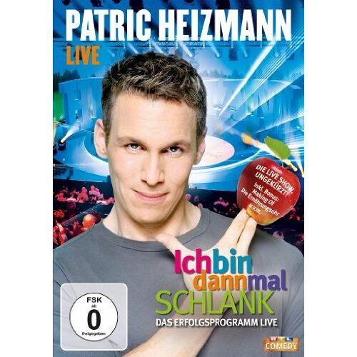 Patric Heizmann - Patric Heizmann LIVE - Ich bin dann mal schlank (inkl. Bonus) - Preis vom 23.01.2021 06:00:26 h