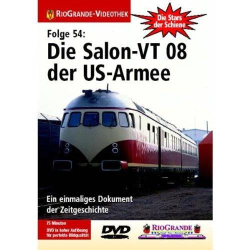 Die Salon-VT 08 der US-Armee - Stars der Schiene 54: Die Salon-VT 08 der US-Armee - Preis vom 13.05.2021 04:51:36 h