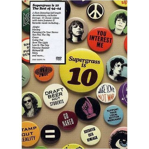Supergrass - Supergrass is 10: The Best of 94 - 04 (2 DVDs) - Preis vom 28.02.2021 06:03:40 h