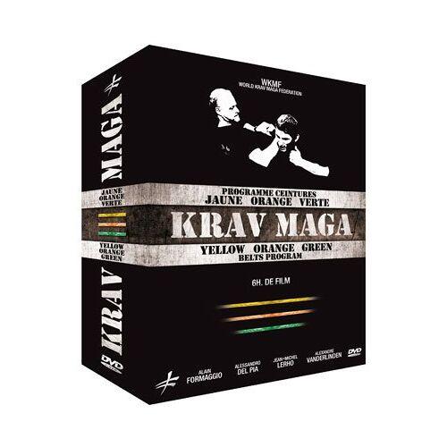 - Krav Maga - Gelber, Orangener und Grüner Gürtel [3 DVDs] - Preis vom 20.10.2020 04:55:35 h