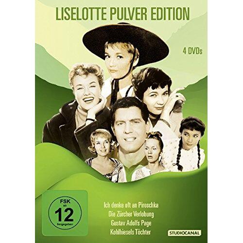 Helmut Käutner - Lieselotte Pulver Edition [4 DVDs] - Preis vom 01.03.2021 06:00:22 h