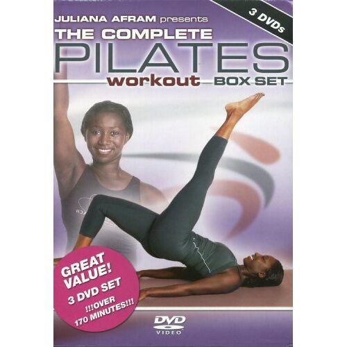 Juliana Afram - The Complete Pilates Workout B [3 DVDs] - Preis vom 08.07.2019 04:43:32 h