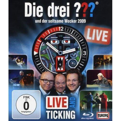 Frank Henze - Die drei ??? und der seltsame Wecker 2009 - Live [Blu-ray] - Preis vom 14.04.2021 04:53:30 h
