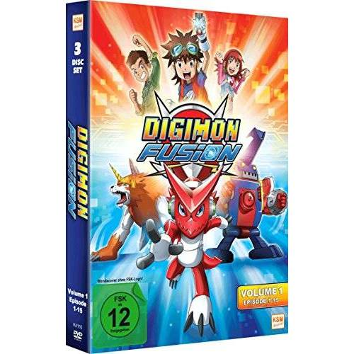 Tatsuya Endo - Digimon Fusion Vol. 1 (Folge 01-15 im 3 Disc Set) - Preis vom 05.05.2021 04:54:13 h