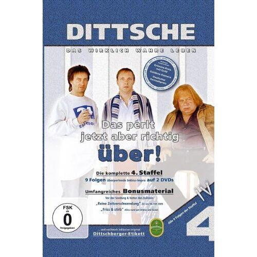 Olli Dittrich - Dittsche/Das perlt jetzt aber richtig über! - 4. Staffel [2 DVDs] - Preis vom 26.02.2021 06:01:53 h