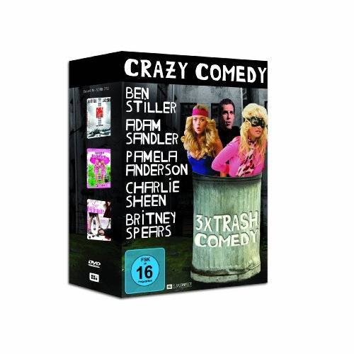 Pauly Shore - STAR - BOX Crazy Comedy (3x Starcomedy) [3 DVDs] - Preis vom 10.05.2021 04:48:42 h