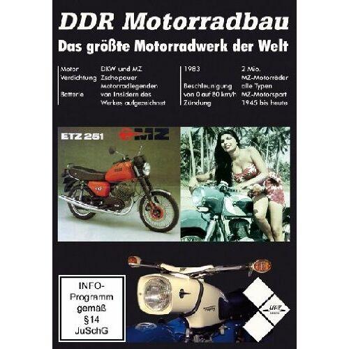 - DDR Motorradbau - Das größte Motorradwerk der Welt - Preis vom 09.05.2021 04:52:39 h