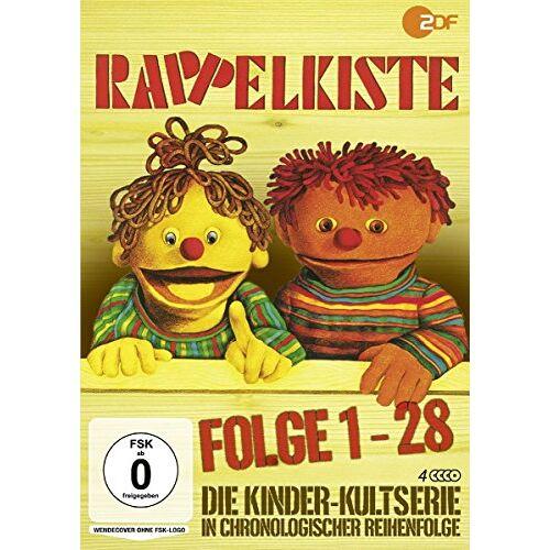 Entwickelt und hergestellt vom Team der Rappelkiste - Rappelkiste, Folge 1-28 [4 Discs] - Preis vom 20.10.2020 04:55:35 h