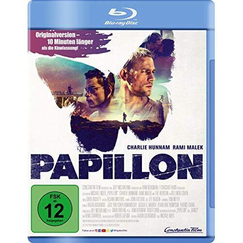 Michael Noer - Papillon [Blu-ray] - Preis vom 20.10.2020 04:55:35 h