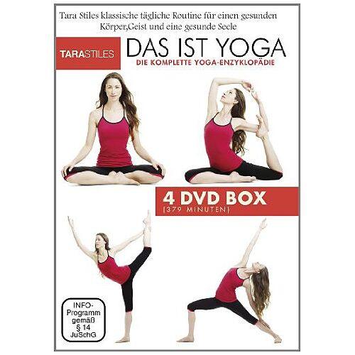 Tara Stiles - Das ist Yoga - Tägliches Yoga für jeden [4 DVDs] - Preis vom 11.11.2019 06:01:23 h