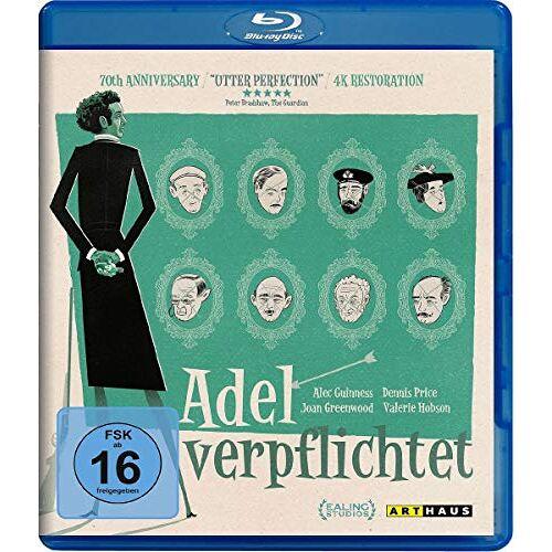 Robert Hamer - Adel verpflichtet [Blu-ray] - Preis vom 06.05.2021 04:54:26 h