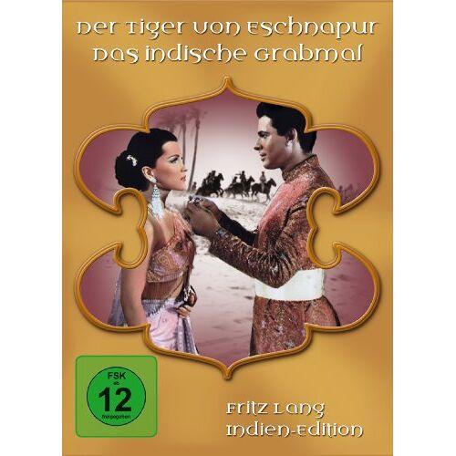 Fritz Lang - Fritz Lang Indien - Edition [2 DVDs] - Preis vom 20.10.2020 04:55:35 h
