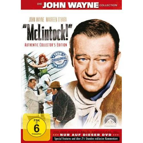 Andrew V. McLaglen - McLintock! [Collector's Edition] - Preis vom 20.10.2020 04:55:35 h