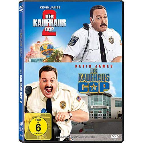 Kevin James - Der Kaufhaus Cop 1&2 / Teil 1+2 [2 DVDs] - Preis vom 20.10.2020 04:55:35 h