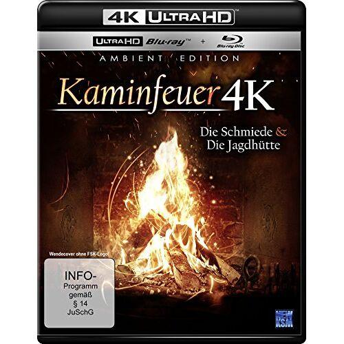 Marc Stengel - Kaminfeuer - Schmiede/Jagdhütte (4K Ultra-HD) (+ Blu-ray) - Preis vom 20.10.2020 04:55:35 h