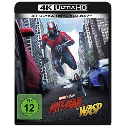 Peyton Reed - Ant-Man and the Wasp 4K Ultra HD [Blu-ray] - Preis vom 14.04.2021 04:53:30 h