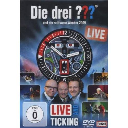 Frank Henze - Die drei ??? und der seltsame Wecker 2009 - Live [2 DVDs] - Preis vom 14.04.2021 04:53:30 h
