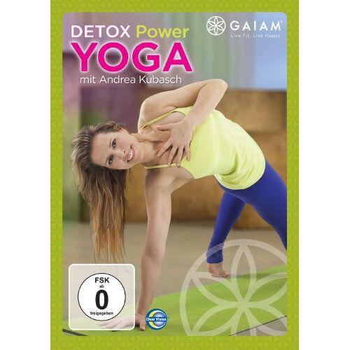 Andrea Kubasch - Gaiam - Detox Power Yoga mit Andrea Kubasch (QBI) - Preis vom 20.10.2020 04:55:35 h