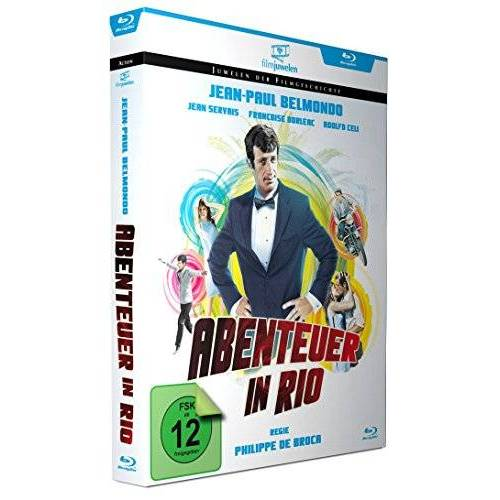 Jean-Paul Belmondo - Abenteuer in Rio - mit Jean-Paul Belmondo (Filmjuwelen) [Blu-ray] - Preis vom 28.02.2021 06:03:40 h