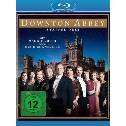 Maggie Smith - Downton Abbey - Staffel 3 [Blu-ray] - Preis vom 28.02.2021 06:03:40 h