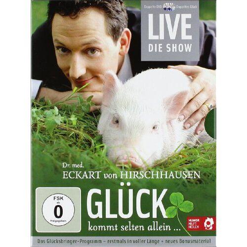 Dr. med. Eckart von Hirschhausen - Eckart von Hirschhausen - Glück kommt selten allein (2 DVDs) - Preis vom 14.01.2021 05:56:14 h