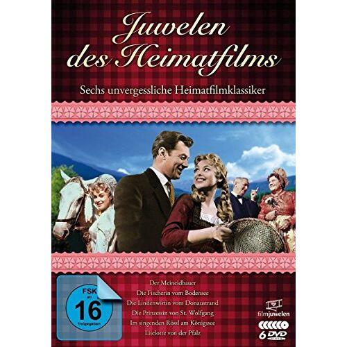 Rudolf Jugert - Juwelen des Heimatfilms: Sechs unvergessliche Heimatfilmklassiker [6 DVDs] - Preis vom 24.02.2020 06:06:31 h
