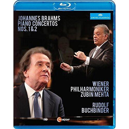 Johannes Brahms - Brahms: Klavierkonzerte Nr. 1 & 2 [Blu-ray] - Preis vom 19.10.2020 04:51:53 h