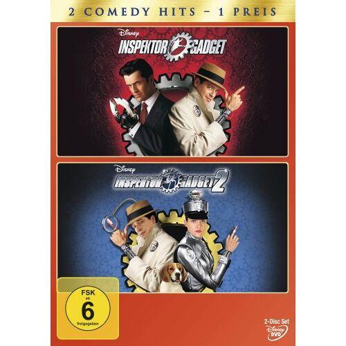 David Kellogg - Inspector Gadget / Inspector Gadget 2 [2 DVDs] - Preis vom 27.02.2021 06:04:24 h