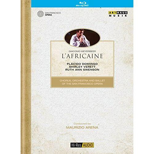Giacomo Meyerbeer - Meyerbeer: L'Africaine (Hi-Res Audio) [Blu-ray] - Preis vom 20.04.2021 04:49:58 h