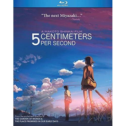 - 5 CENTIMETERS PER SECOND - 5 CENTIMETERS PER SECOND (1 Blu-ray) - Preis vom 04.10.2020 04:46:22 h