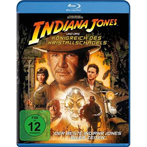 Steven Spielberg - Indiana Jones & das Königreich des Kristallschädels [Blu-ray] - Preis vom 25.02.2021 06:08:03 h