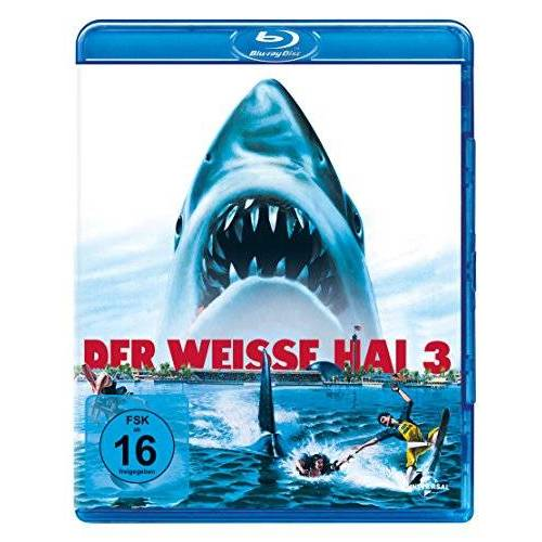 Joe Alves - Der weisse Hai 3 [Blu-ray] - Preis vom 14.01.2021 05:56:14 h