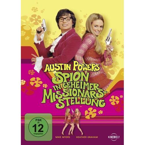Jay Roach - Austin Powers 2 - Spion in geheimer Missionarsstellung [Blu-ray] - Preis vom 20.10.2020 04:55:35 h