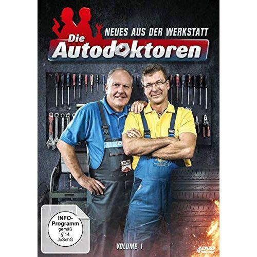 Hans-Jürgen Faul - Die Autodoktoren - Neues aus der Werkstatt, Volume 1 [4 DVDs] - Preis vom 05.09.2020 04:49:05 h