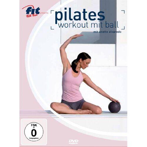 Elli Becker - Pilates Workout mit Ball - mit Anette Alvaredo - Preis vom 08.07.2019 04:43:32 h