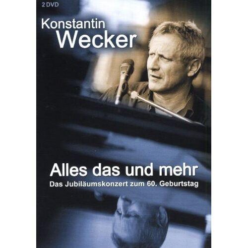 Konstantin Wecker - Alles das und mehr [2 DVDs] - Preis vom 25.01.2021 05:57:21 h