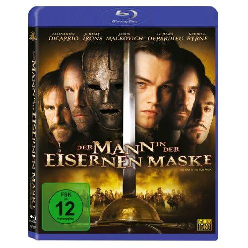 Randall Wallace - Der Mann in der eisernen Maske [Blu-ray] - Preis vom 18.10.2020 04:52:00 h