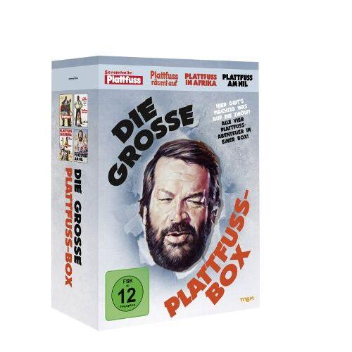 Bud Spencer - Die große Plattfußbox [Remastered Version, 4 DVDs] - Preis vom 04.09.2020 04:54:27 h