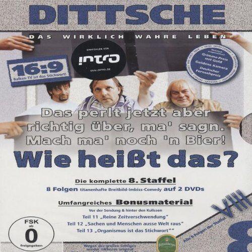 Olli Dittrich - Dittsche: Das wirklich wahre Leben - Die komplette 8. Staffel [2 DVDs] - Preis vom 10.04.2021 04:53:14 h