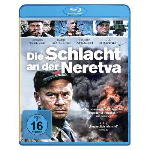 Veljko Bulajic - Die Schlacht an der Neretva [Blu-ray] - Preis vom 21.01.2021 06:07:38 h