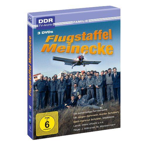 Jörg Wilbrandt - Flugstaffel Meinecke - DDR TV-Archiv (3 DVDs ) - Preis vom 07.05.2021 04:52:30 h