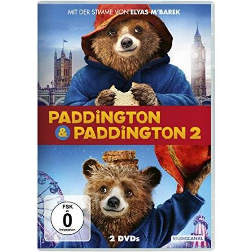 Paul King - Paddington & Paddington 2 [2 DVDs] - Preis vom 14.01.2021 05:56:14 h