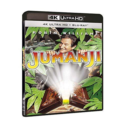 - Blu-Ray - Jumanji (Blu-Ray 4K Ultra Hd+Blu-Ray) (1 Blu-ray) - Preis vom 26.03.2020 05:53:05 h