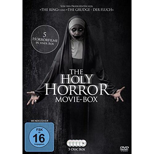 Various - The Holy Horror Movie Box (5 Horrorfilme in einer Box) [5 DVDs] - Preis vom 13.02.2020 06:03:59 h